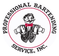 Professional Bartending Service, Inc. Logo