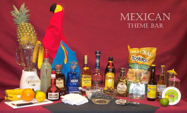 theme bar mexican